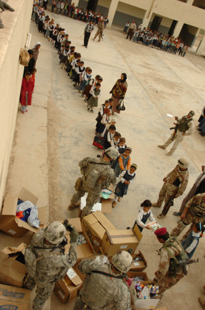 Mike Stokely Foundation in Iraq